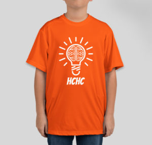 Dress your child in field trip orange.